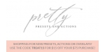 Pretty Presets and Actions coupon code