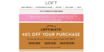 Loft Outlet coupon code