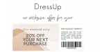 Dress Up coupon code