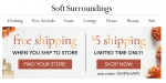 Soft Surroundings coupon code