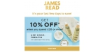 James Read coupon code