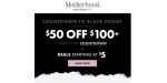 Motherhood Maternity coupon code