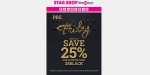 Stag Shop coupon code