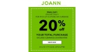 Joann coupon code