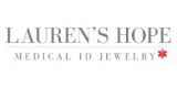 Laurens Hope Medical ID Jewelry