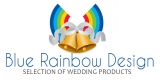 Blue Rainbow Design
