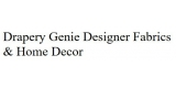 Drapery Genie Designer Fabrics and Home Decor