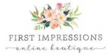 First Impressions Online Boutique