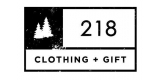 218 Clothing and Gift