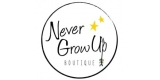 Never Grow Up Boutique