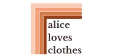 Alice Loves Clothes