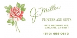J Miller Flowers and Gifts