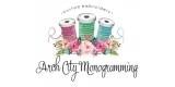Arch City Monogramming