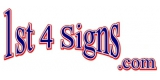1 St 4 Signs