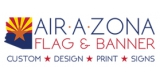 Air A Zona Flag and Banner