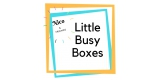 Little Busy Boxes